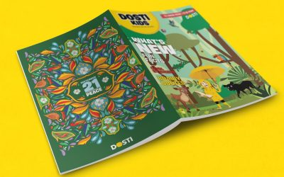 DOSTI KIDS MAGAZINE: READ TODAY, LEAD TOMORROW