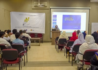 Participants of the Seminar on international literacy day