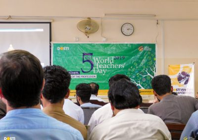 WORLD TEACHERS DAY CELEBRATIONS WITH THE COLLABORATION OF SOCIAL WORK DEPARTMENT UNIVERSITY OF PESHAWAR