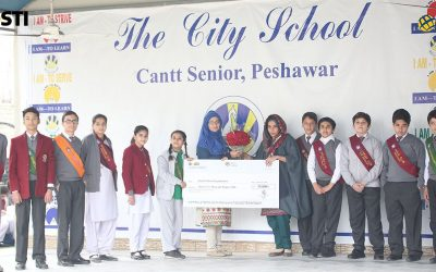 Fundraising Ceremony at The City School Peshawar